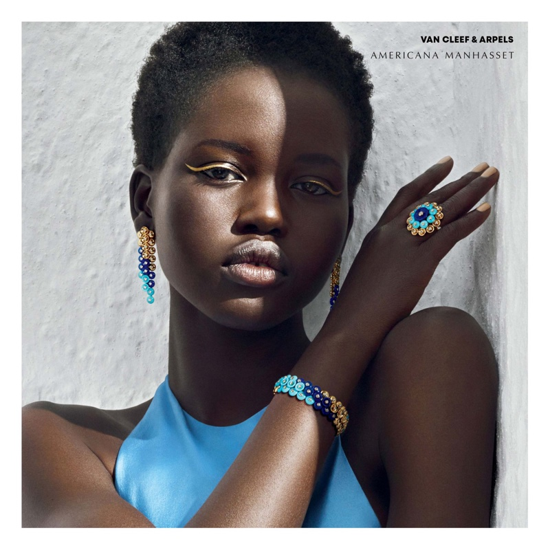 Adut Akech for Americana Manhasset Fall 2018 Ad Campaign (4).jpg