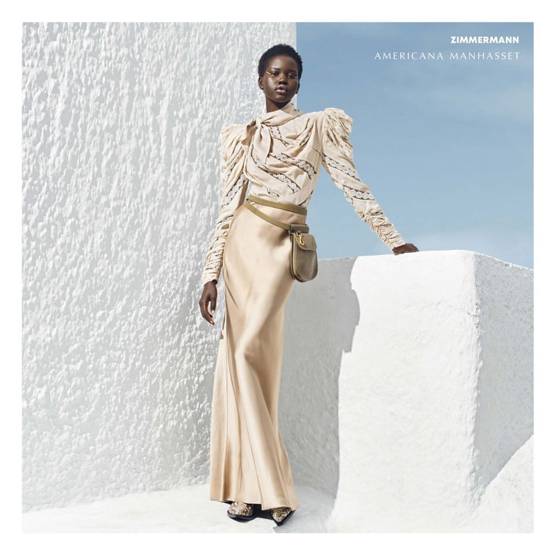 Adut Akech for Americana Manhasset Fall 2018 Ad Campaign (8).jpg
