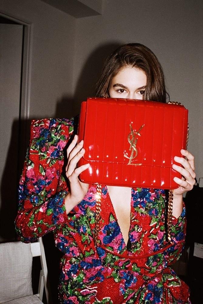 Kaia Gerber Wears Saint Laurent in LOVE Mag (7).jpg