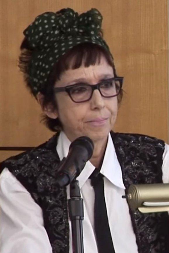 NYU professor Avital Ronell