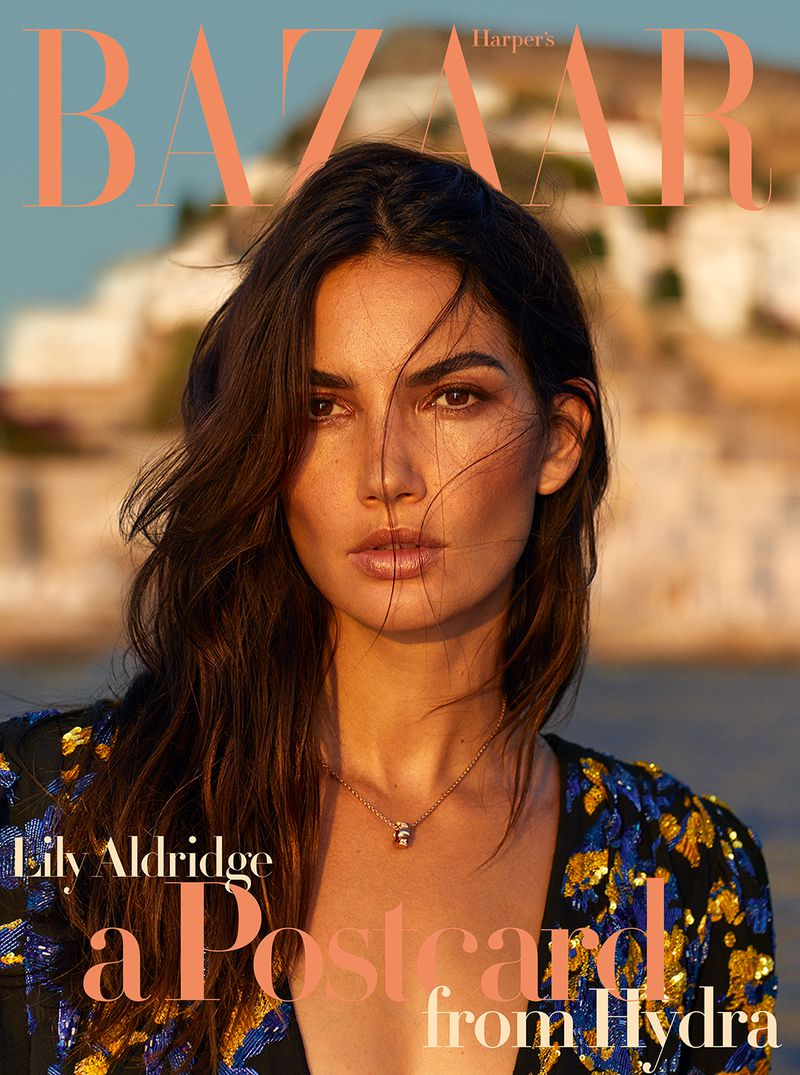 Lily Aldridge Harper's Bazaar Greece Oct 2018 Cover 3.jpg