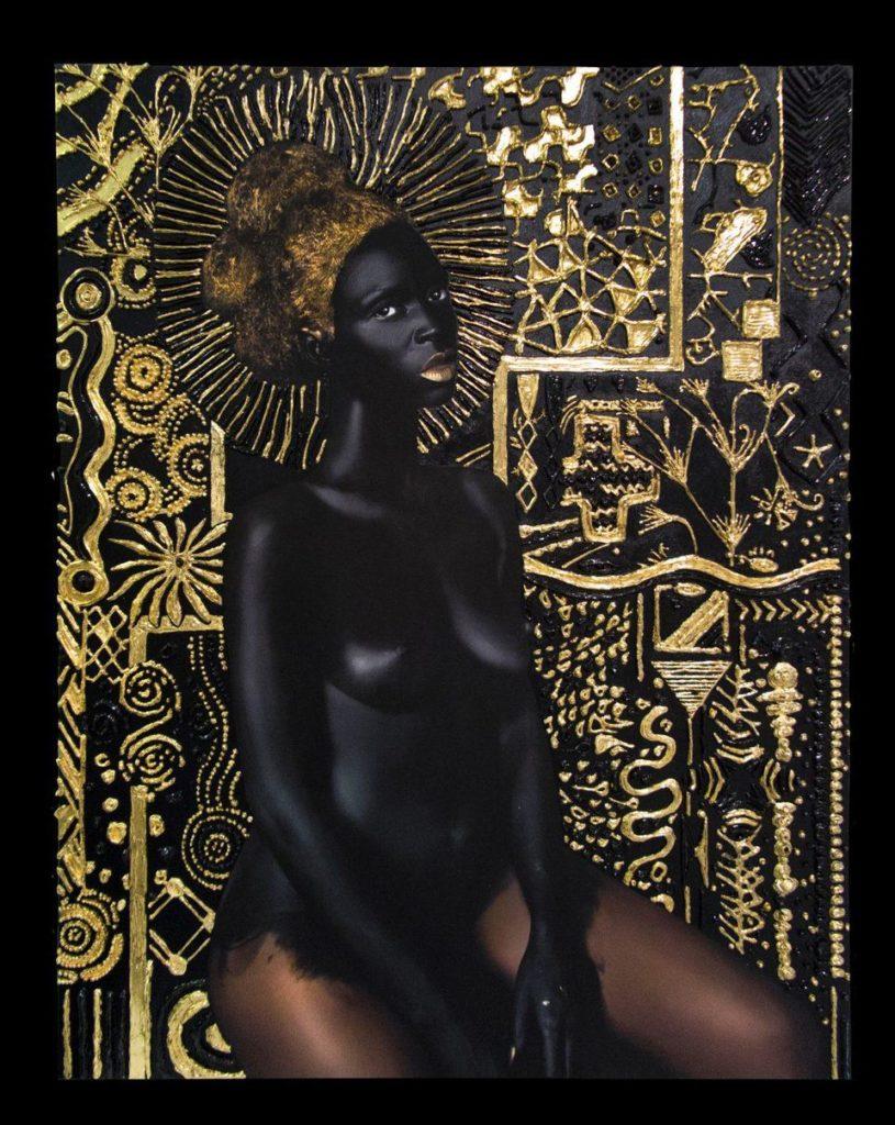 Lina Iris Viktor,  Materia Prima II  (2017–18). Courtesy of Mariane Ibrahim Gallery, Seattle.
