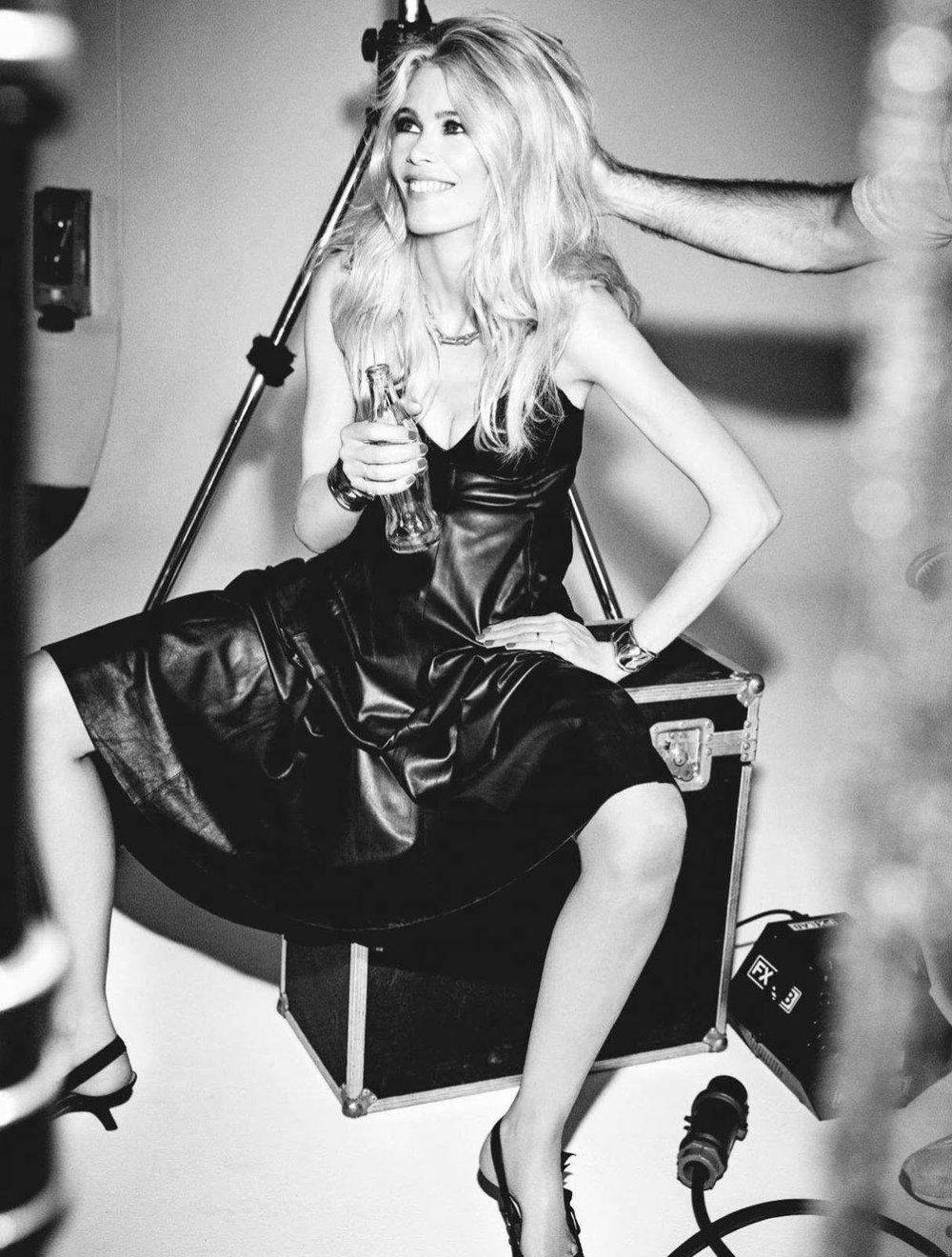 Claudia Schiffer by Ellen Von Unwerth For ELLE Portugal Oct 2018 (11).jpg