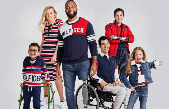 The fall campaign from Tommy Hilfiger's Adaptive collection.
