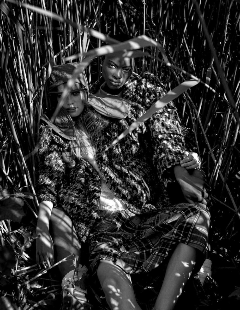 Ine Neefs, Mayowa Nicholas by Drew Jarrett for Vogue Spain Nov 2018 (9).jpg