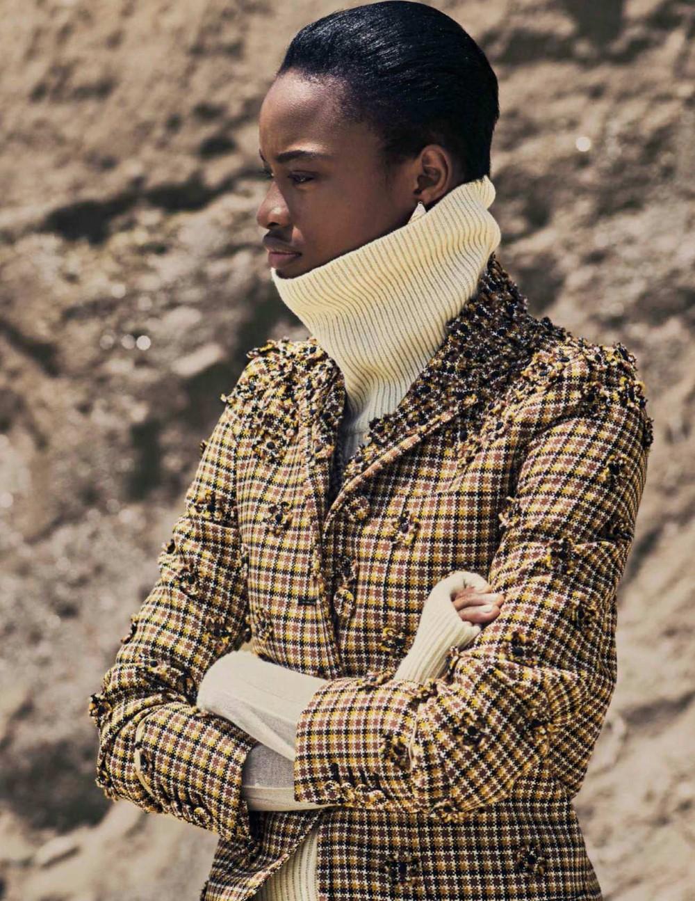 Ine Neefs, Mayowa Nicholas by Drew Jarrett for Vogue Spain Nov 2018 (8).jpg