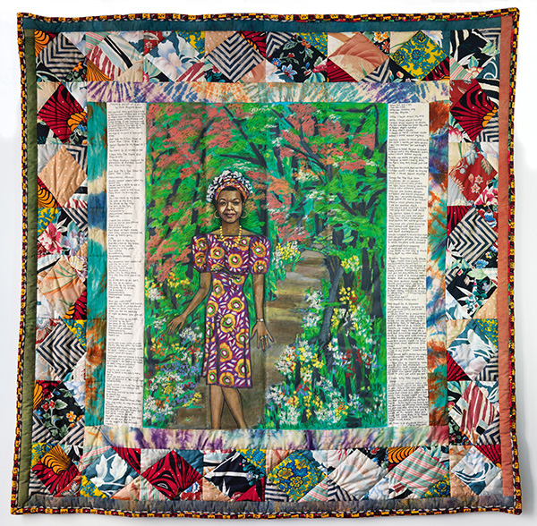 Faith Ringgold,  Maya's Quilt of Life  (1989).