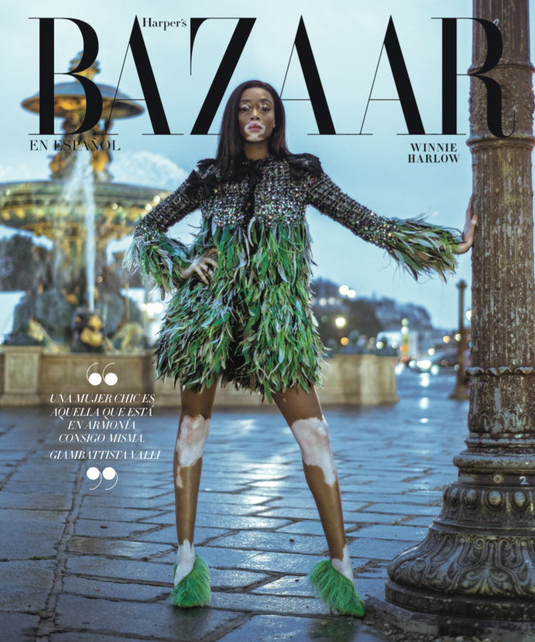 Winnie Harlow by Jacques Burga for Harper's Bazaar Mexico and Latin America Nov 2018 (1).png