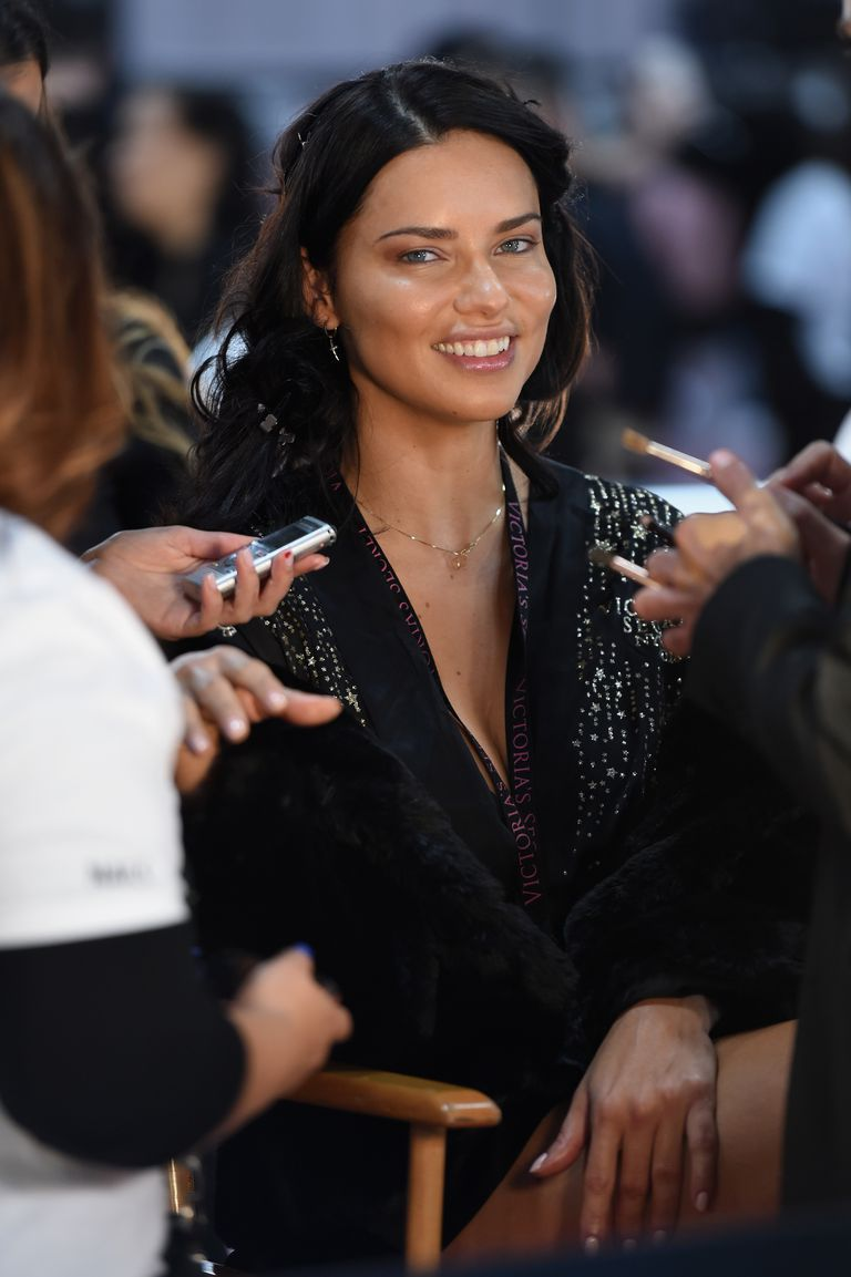 d1a1d1f8cd Adriana Lima announced her retirement from Victoria s Secret after walking  her 18th and last fashion show