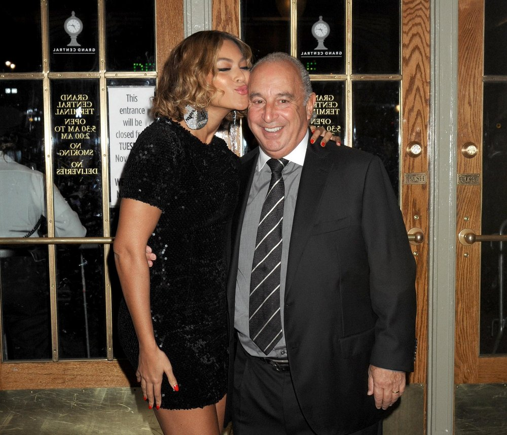 Beyoncé Knowles and Sir Philip Green started Ivy Park in 2016 (SplashNews.com) ,  via   Evening Standard.