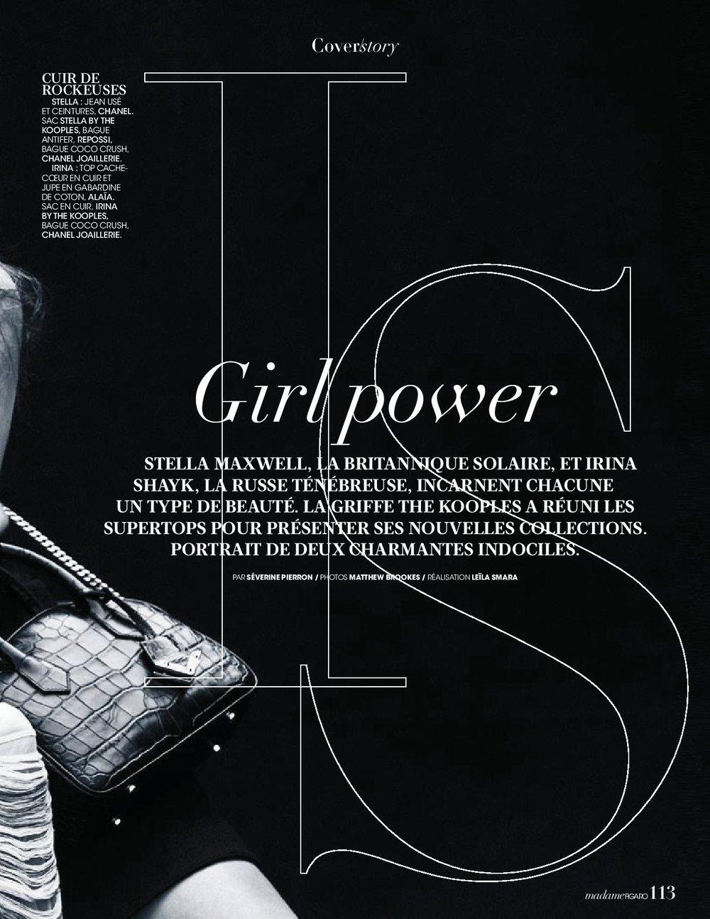 Irina Shayk + Stella Maxwell by Matthew Brookes for Madame Figaro Nov 2018 (7).jpg