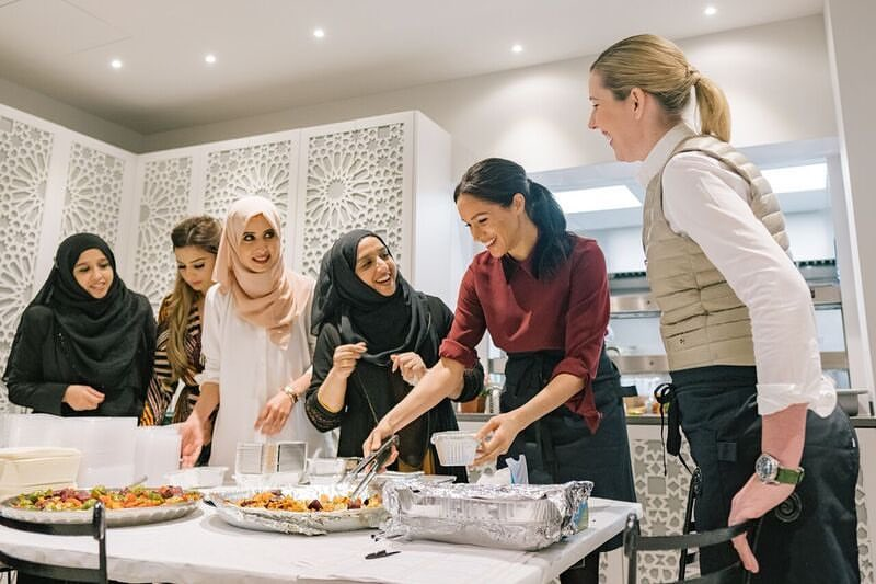 meghan markle s together our community cookbook reopens the hubb