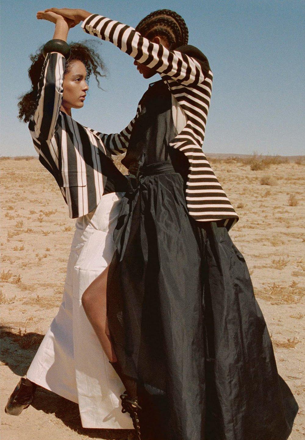 Elibeidy Martinez + Luisana Gonzalez by Yelena Yemchuk for Porter 30 Winter 2018 (8).jpg