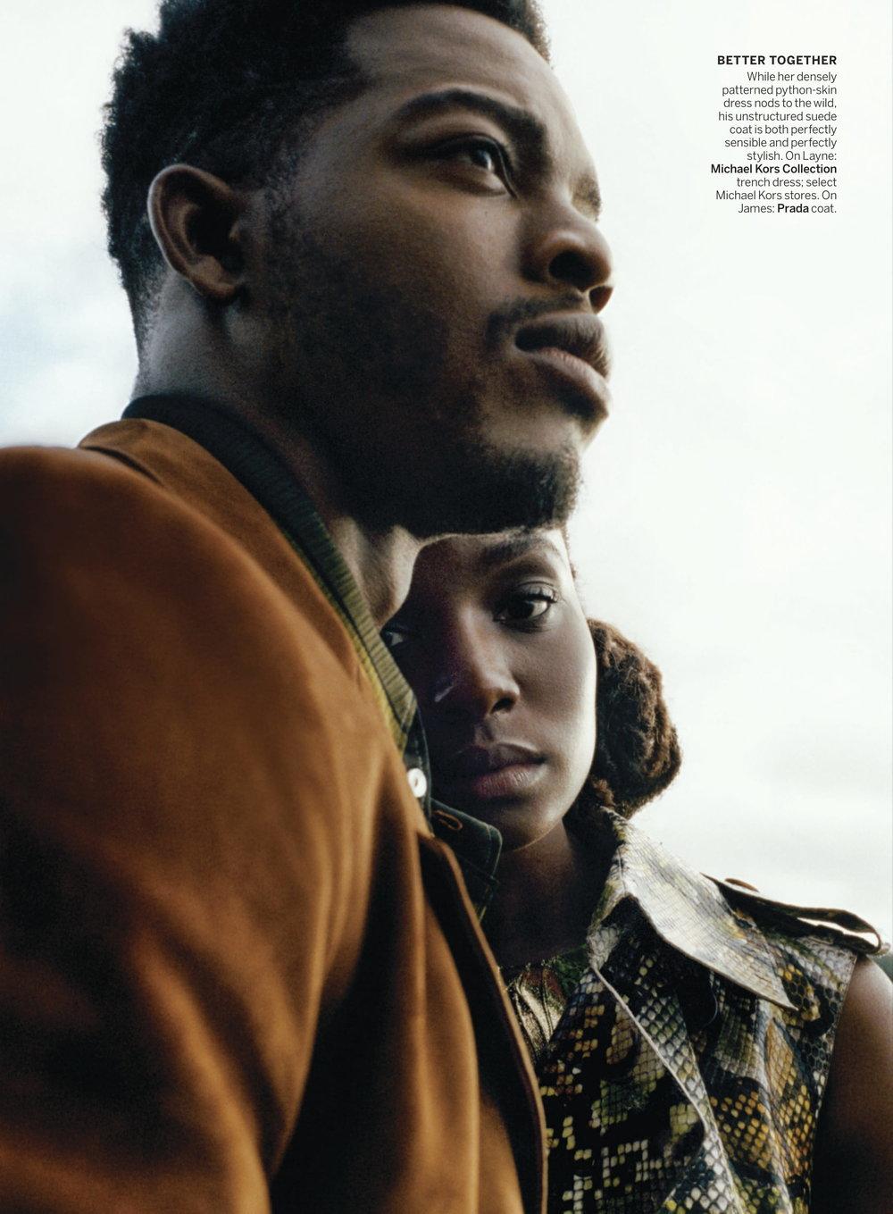 Kiki Layne, Stephan James by Tyler Mitchell for Vogue US Jan 2019 (9).jpg