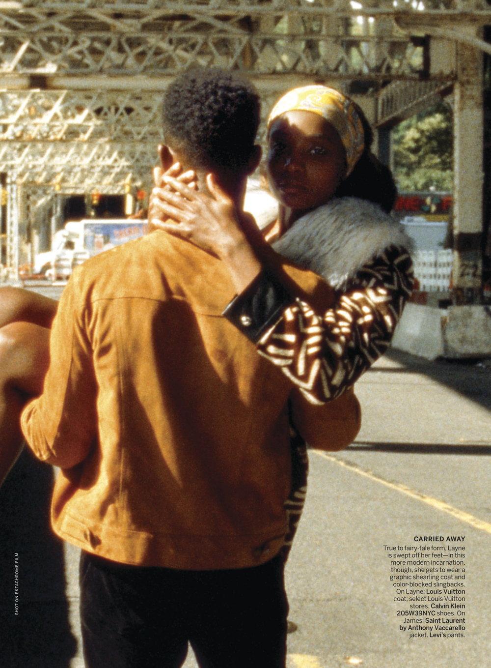 Kiki Layne, Stephan James by Tyler Mitchell for Vogue US Jan 2019 (1).jpg
