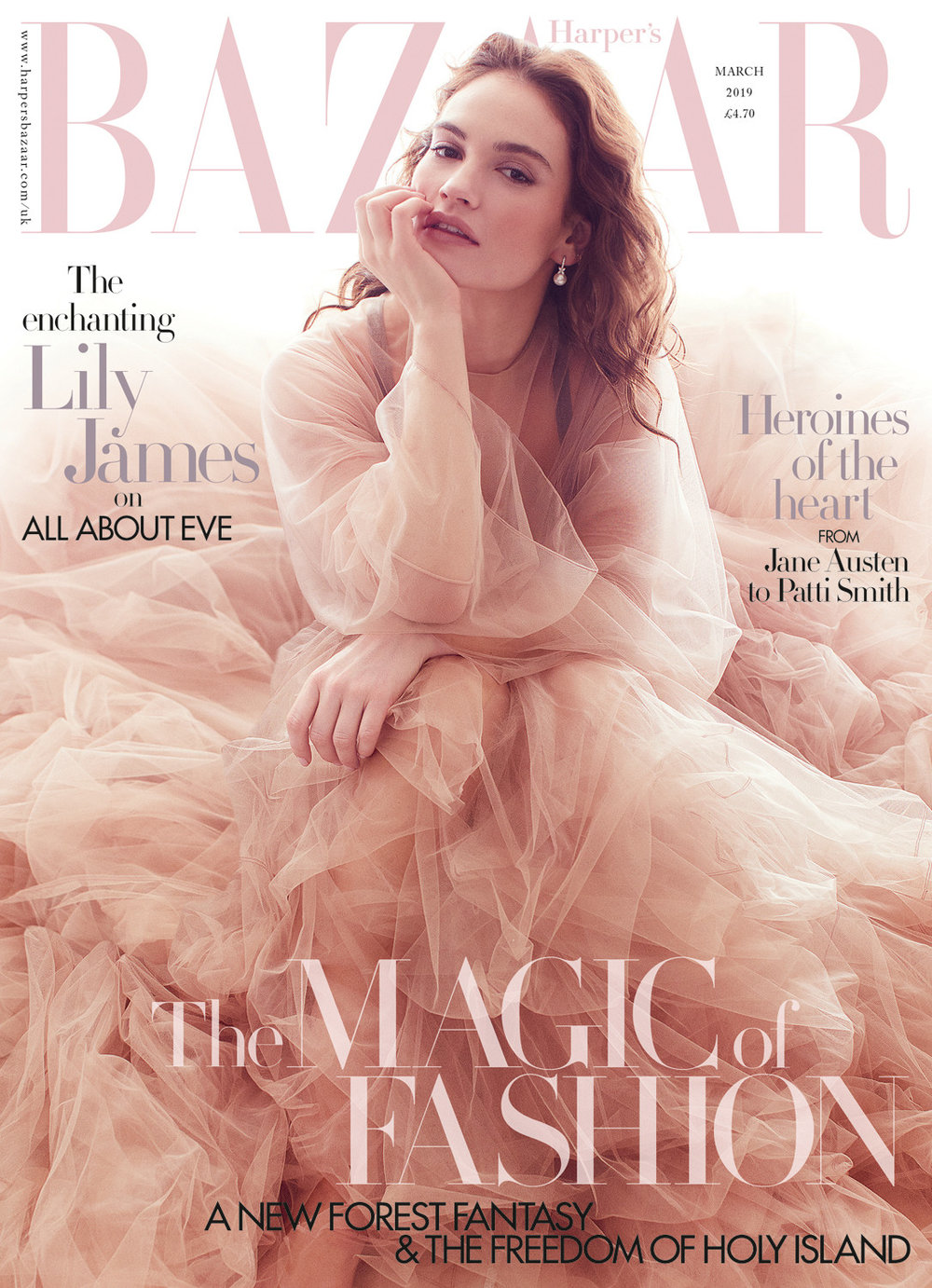 Lily James by Alex Lubomirski for Harpers Bazaar UK March 2019 (6).jpg