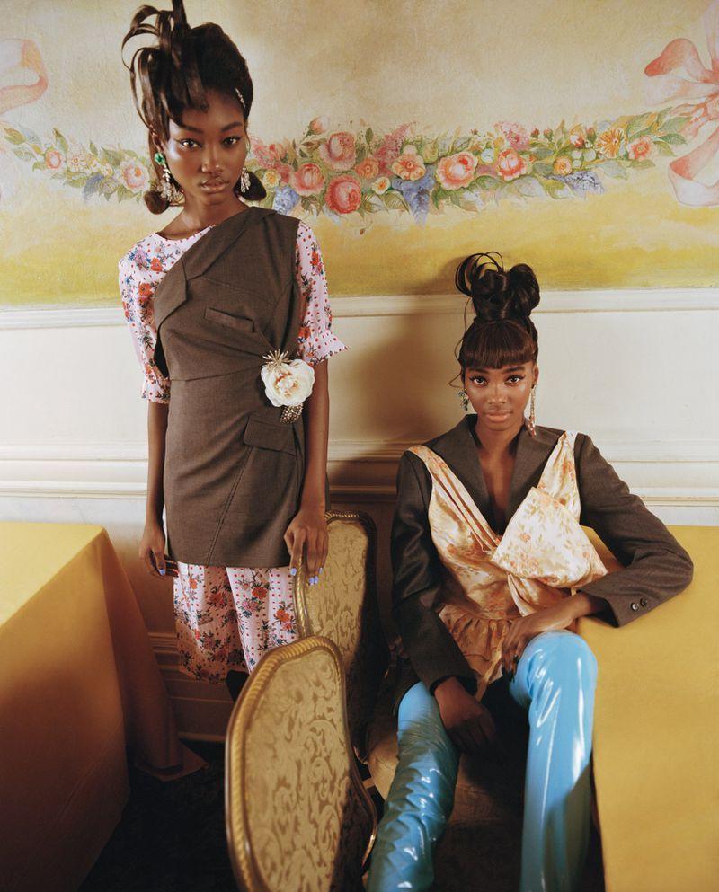 Nadine Ijewere 'Black Cotillion' for Garage Magazine SS2019 (23).jpg