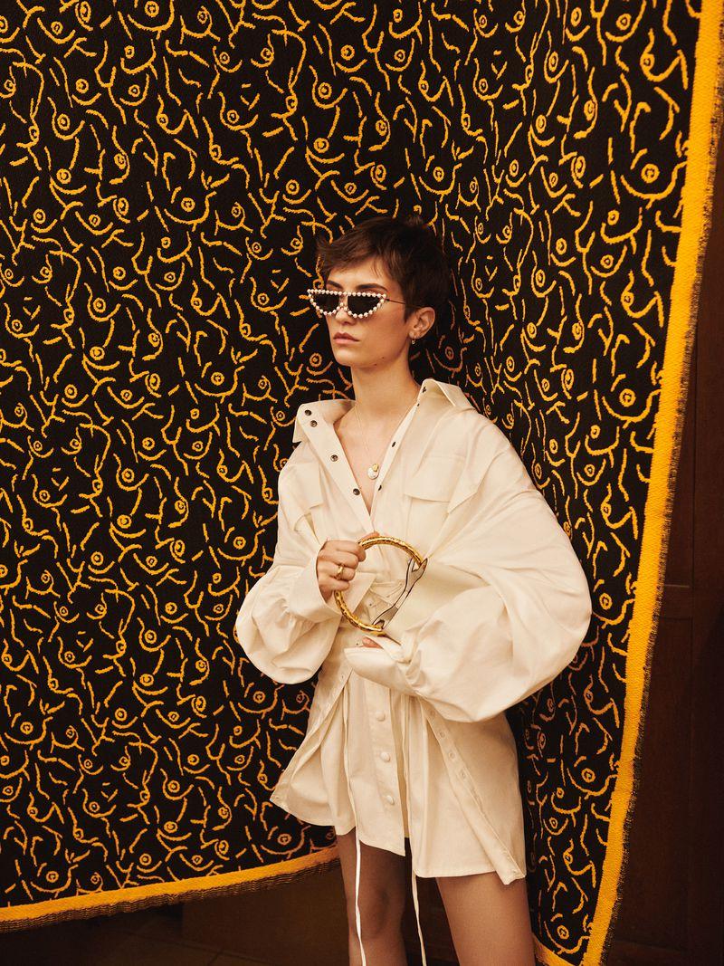 Cleo Cwiek by Agnieszka Kulesza for ELLE Poland Mar 2019 (1).jpg