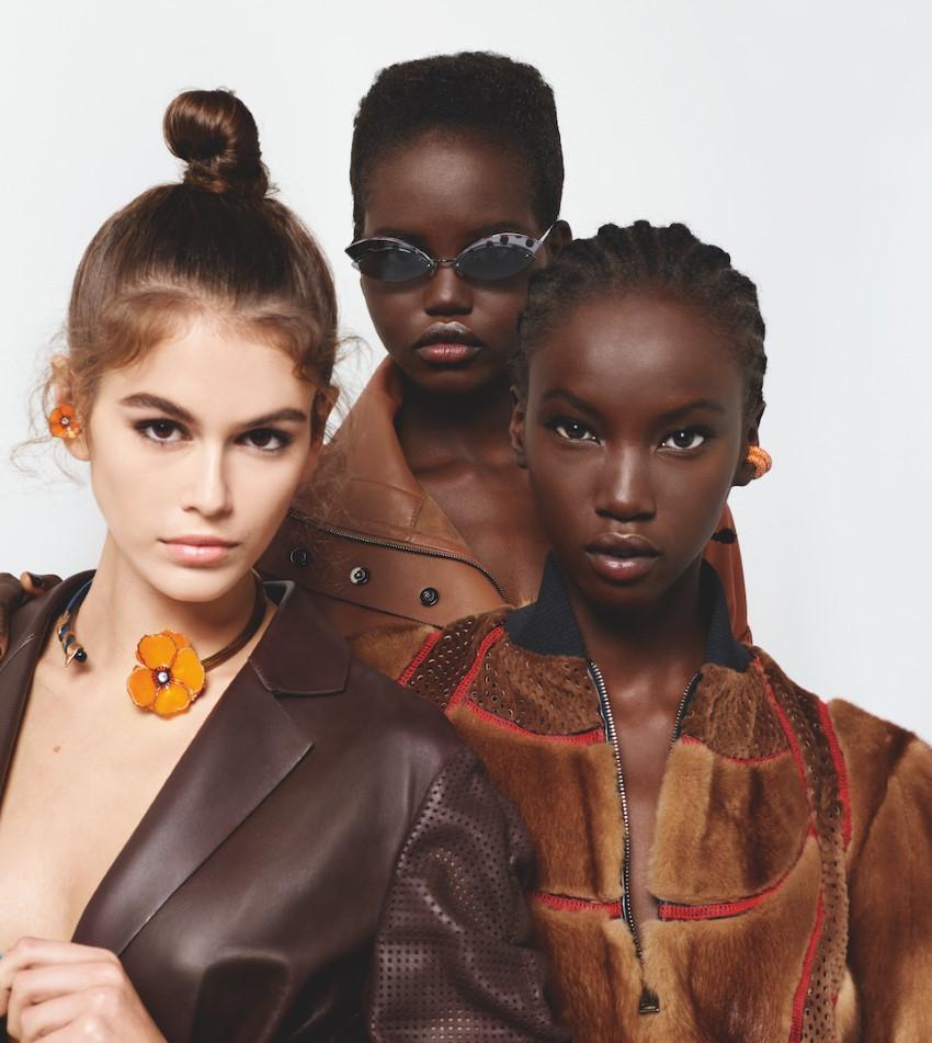 Kaia, Adut + Anok by Karl Lagerfeld for Fendi Sp 2019 Campaign (5).jpg