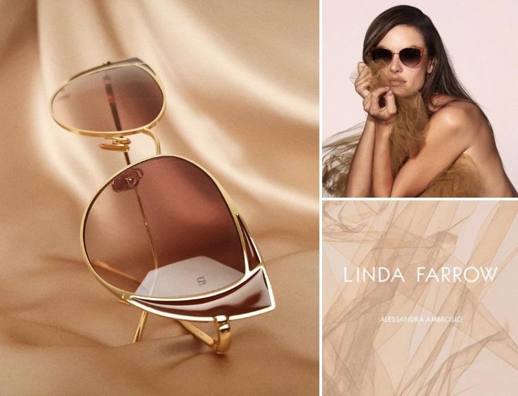 Alessandra Ambrosio Sp2019 Campaign for Linda Farrow (4).jpg