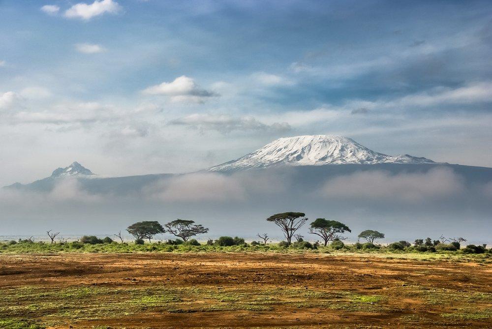 View of Kilimanjaro from Amboseli National Park, Kenya, by  Sergey Pesterev  on  Unsplash
