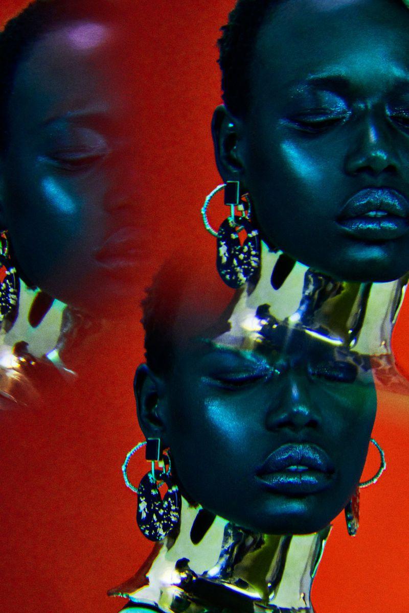 Ajak Deng In 'Estrela Dacente' Lensed By Jamie Nelson For Vogue Portugal April 2019