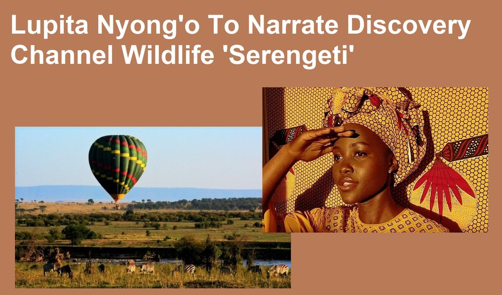 Lupita Nyong'o is taking us to the 'Serengeti' for Discovery Channel Wildlife