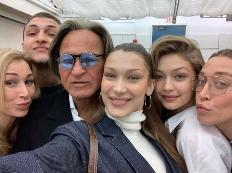 A gaggle of Hadids at last weekend's Arab Conference at Harvard University, where patriarch Mohamed Hadid spoke to the theme of (Re)Imagining Home.