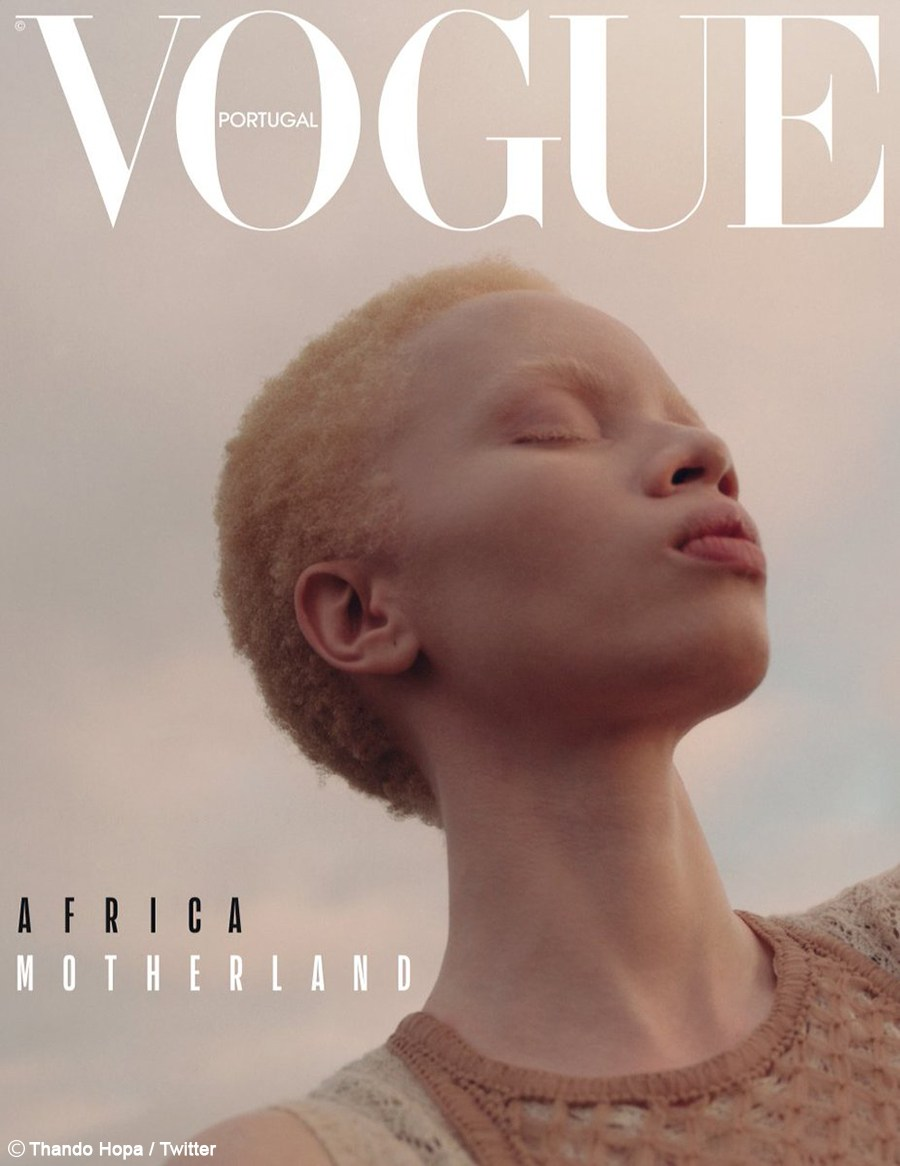 Thando Hopa's Vogue Portugal April 2019 Rhys Frampton Images