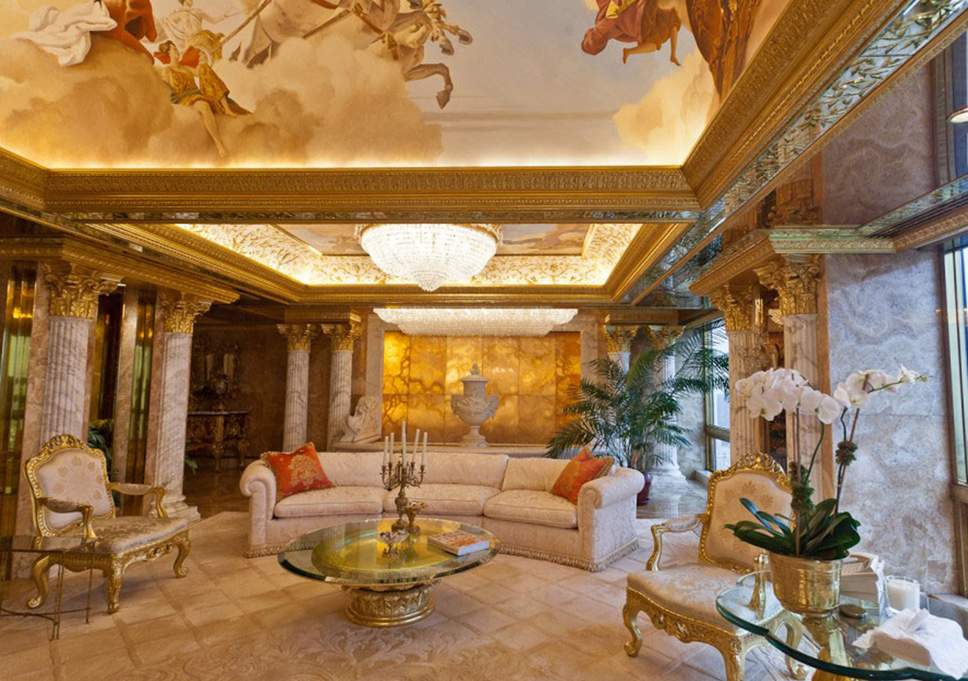 Donald Trump's imperial tastes are called 'Dictator Chic' by Peter York.