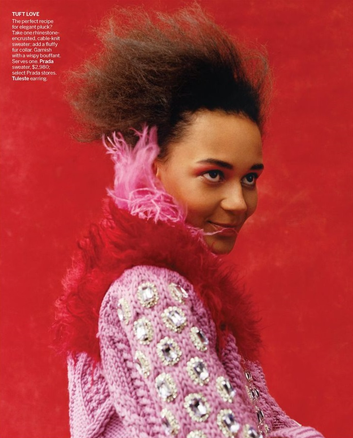 Binx Walton by Jamie Hawkesworth for Vogue US May 2019