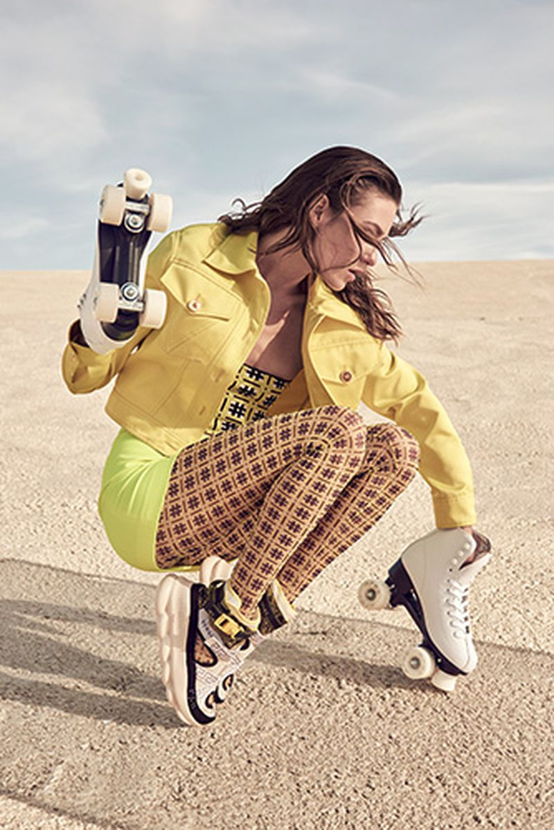 Sven Baenziger Flashes Lisa Louise In 'Surf and Skate' for Grazia