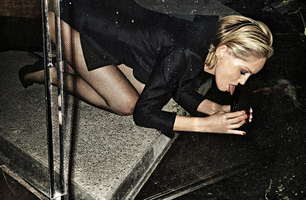 Sharon Stone Delivers Epic Sensuality, Gettng Gritty For Vogue Portugal