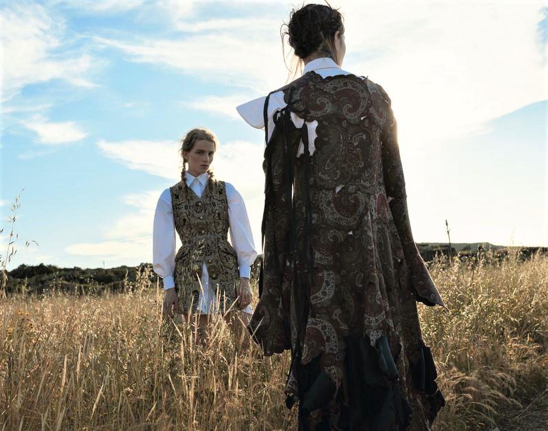 Richard Bush Flashes Fashion's Long Story In 'Folk Tales' For