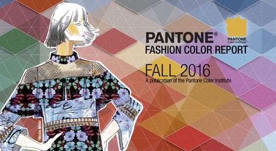 pantone fashion color report fall 2016