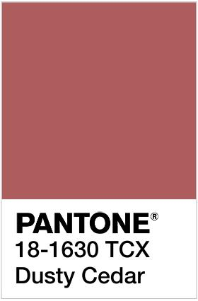 pantone dusty cedar handmade jewelry