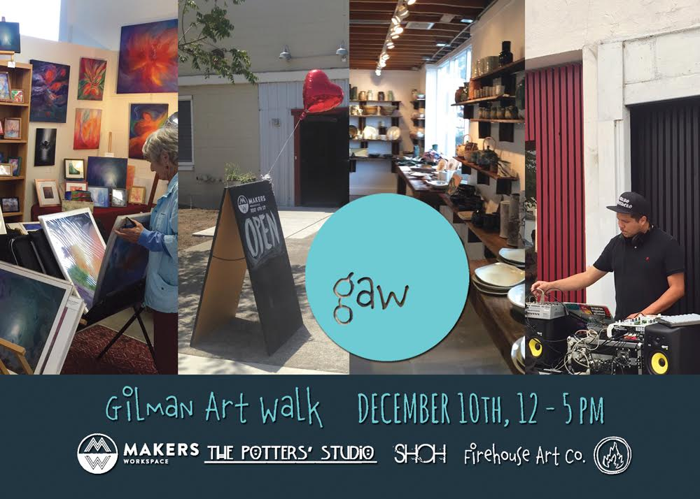 gilman art walk