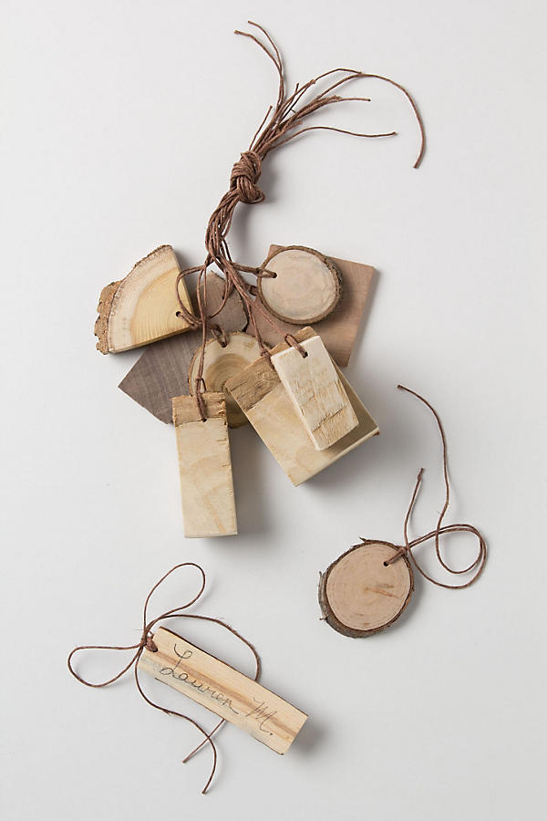 Wood Gift Tags