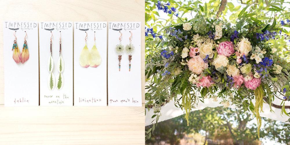 Pressed flower wedding jewelry bouquet preservation impressed by katiek wedding bouquet jewelry impressed by natureg solutioingenieria Images