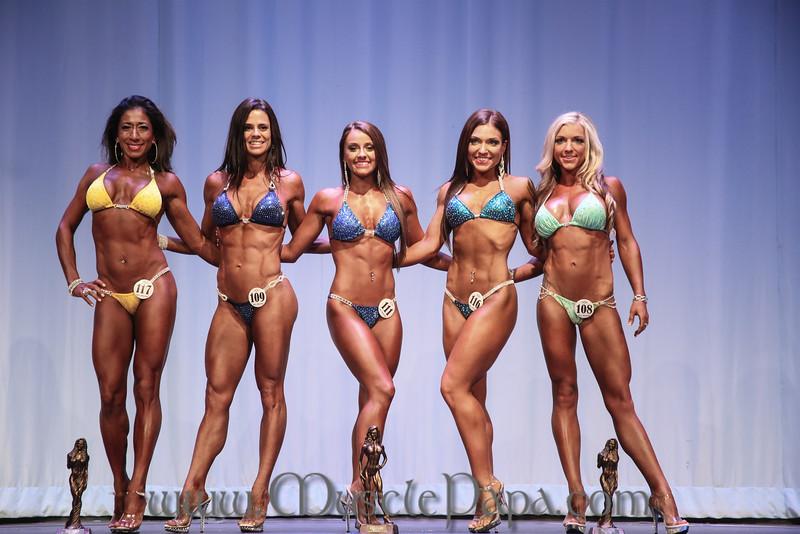 Bikini Finals, Top 5