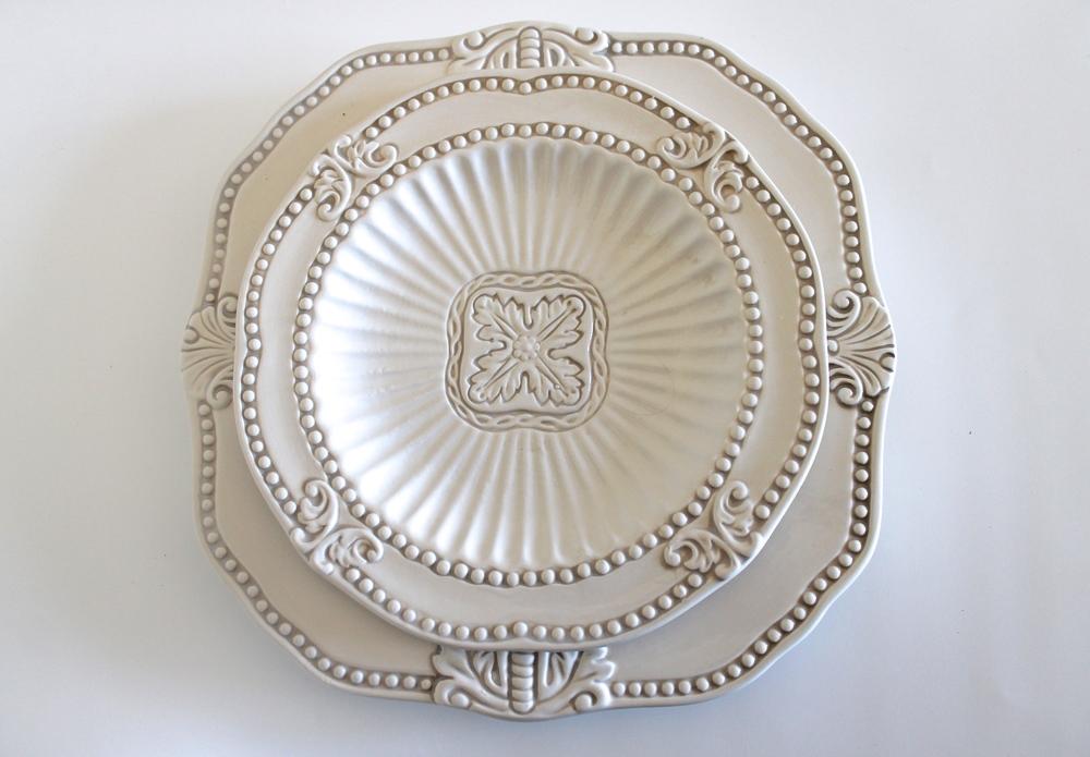 Baroque Dinnerware & Baroque Dinnerware u2014 Gathered Table Supply Co.
