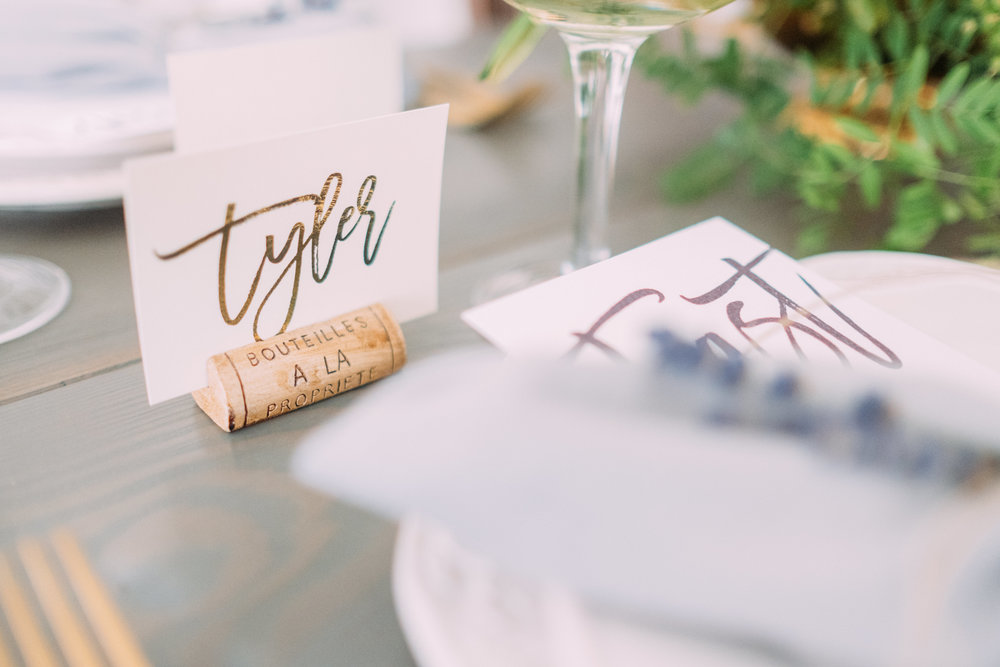 Wine Cork Place Card Holder Gathered Table Supply Co
