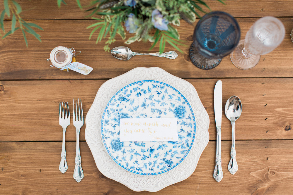 Blue Floral Plates & Blue Floral Plates \u2014 Gathered Table Supply Co.