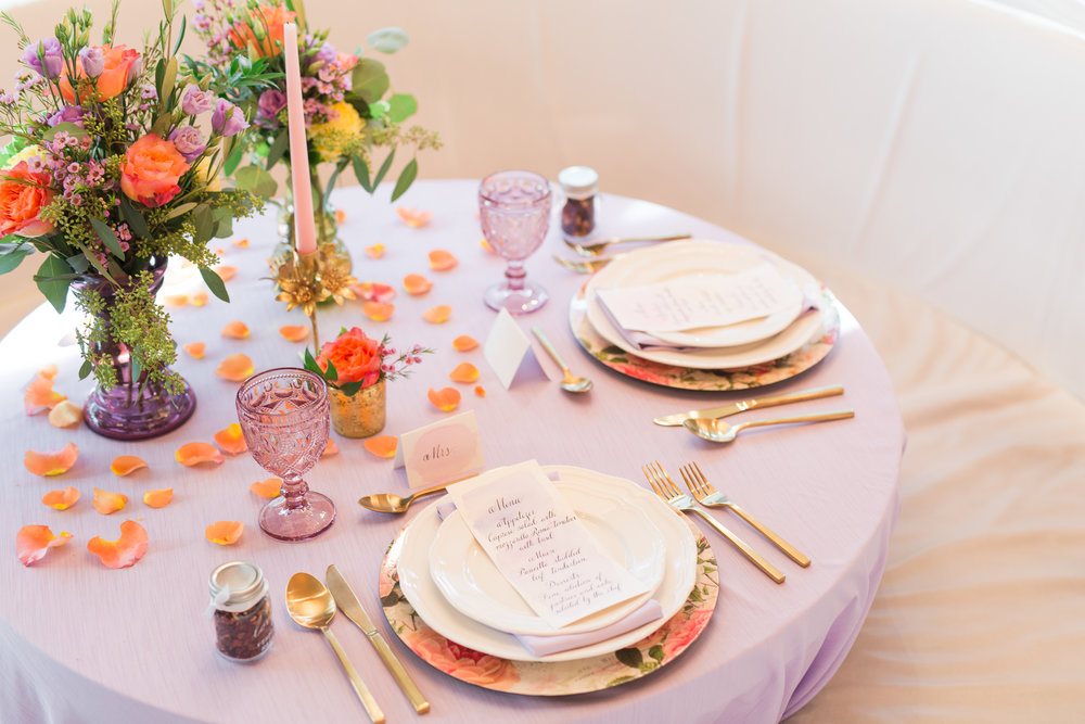 Style Inspired Weddings: Fun Colour Pop Theme Styled Shoot. Click for more.