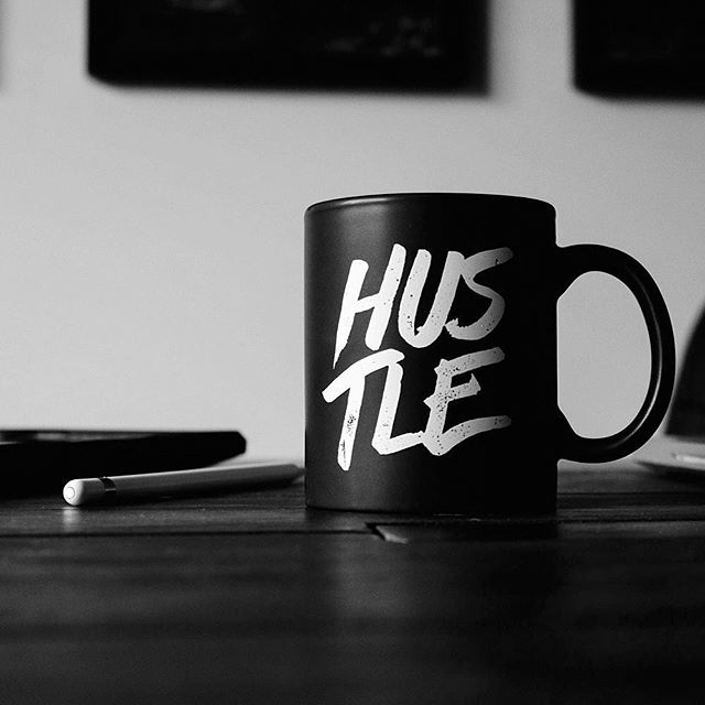 March's Coffee Break Writing Prompt: Hustle. #writingprompt #coffeebreak #writing #writers