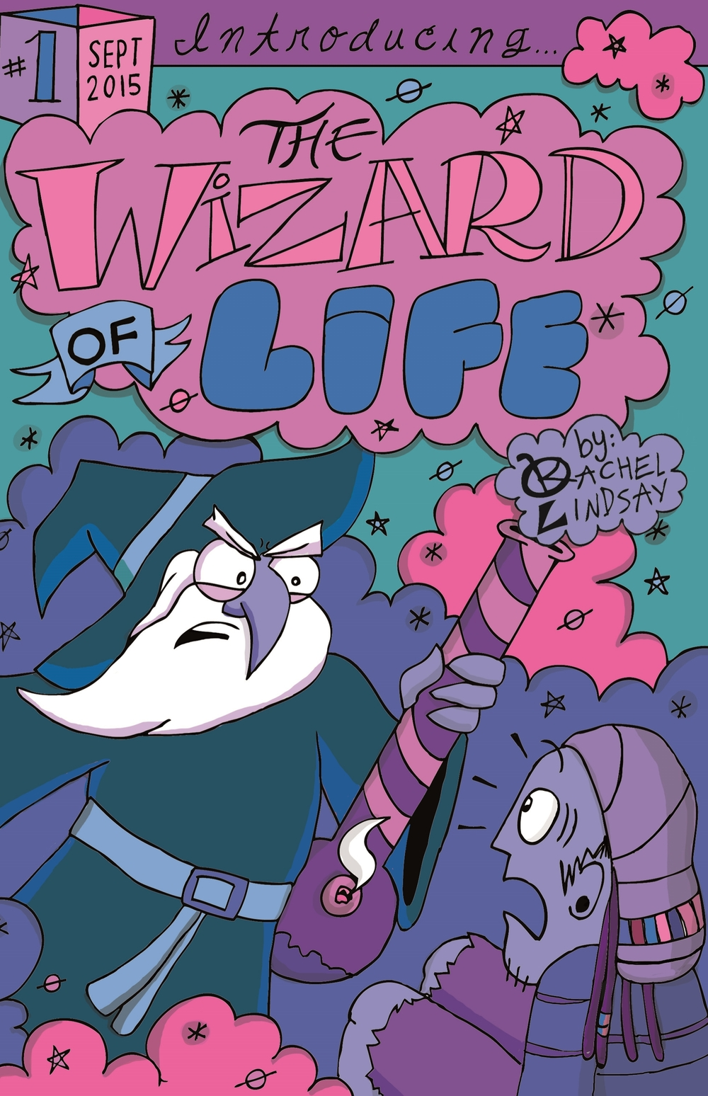 The Wizard of Life #1, Variant Cover - September 2015