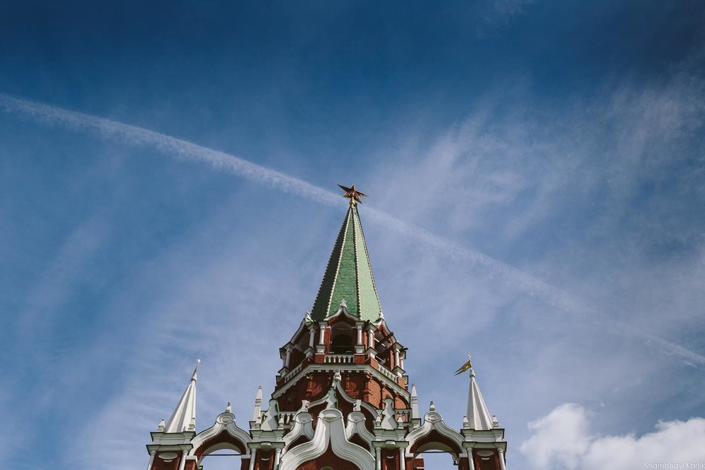 The Trinity tower, Kremlin