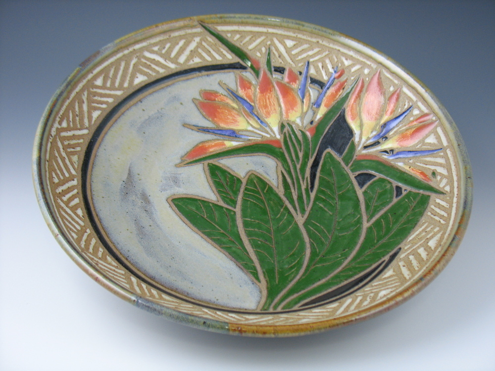 Bird of Paradise bowl