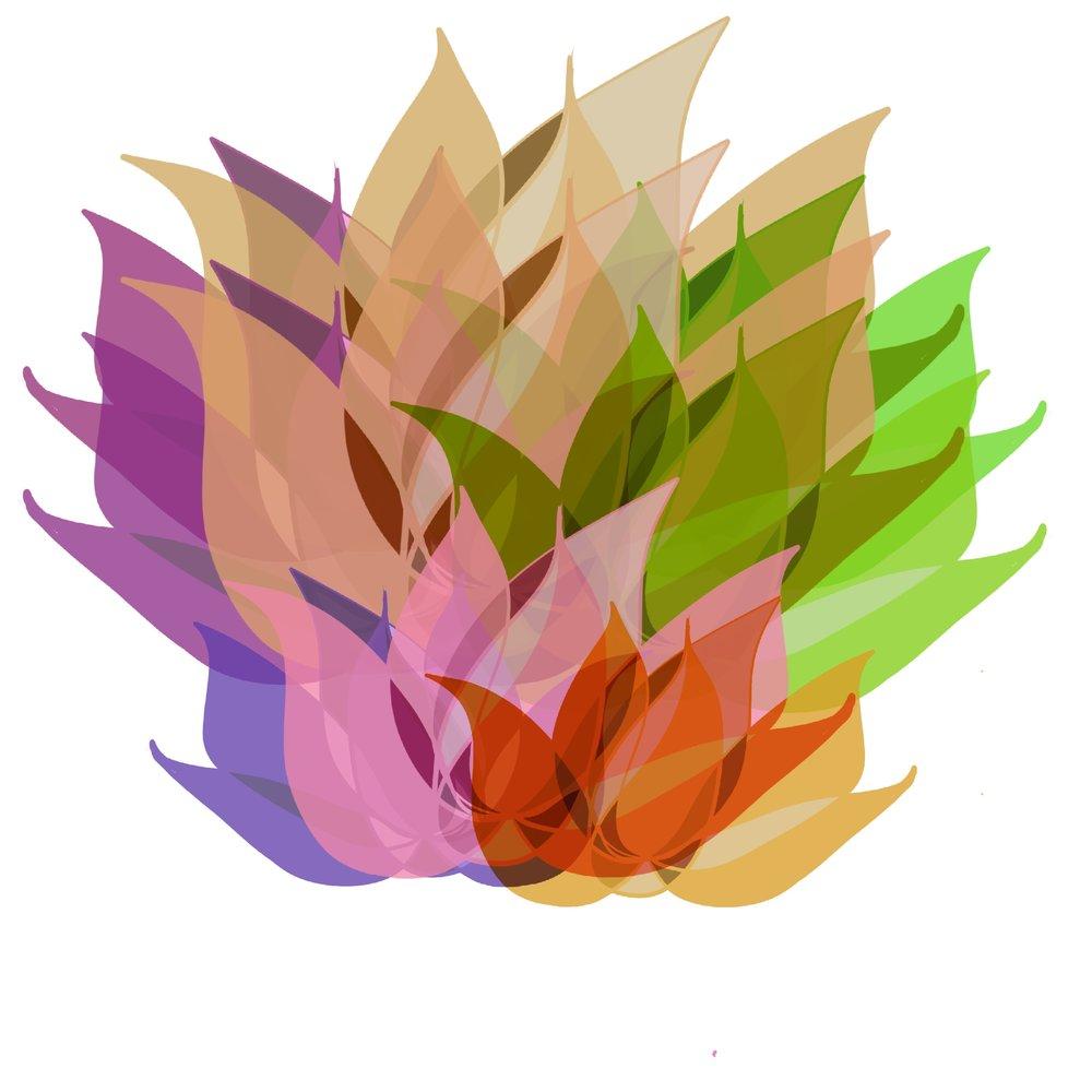 "Tesia Blackburn ""Blooming Lotus"""