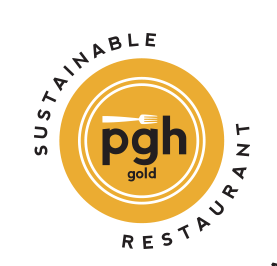 Sustainable Restaurant Pittsburgh Gold Plate